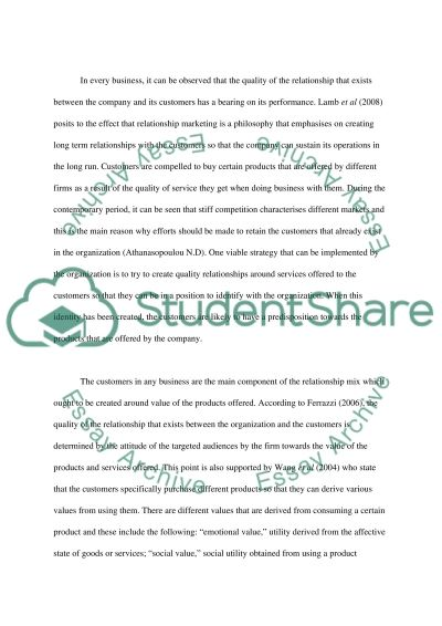Marketing Management and Strategy essay example