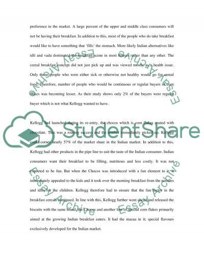 marketing term paper topics