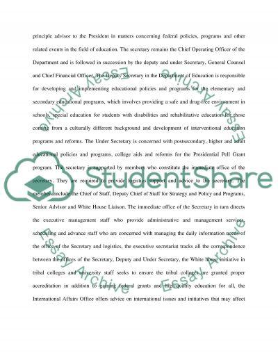 Bureaucracy Assignment essay example