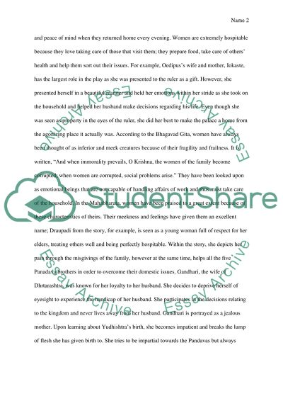 Thesis Statement In Essay Women Role In World Literature Proposal Essay Examples also Essay Paper Writing Services Women Role In World Literature Essay Example  Topics And Well  Sample Argumentative Essay High School