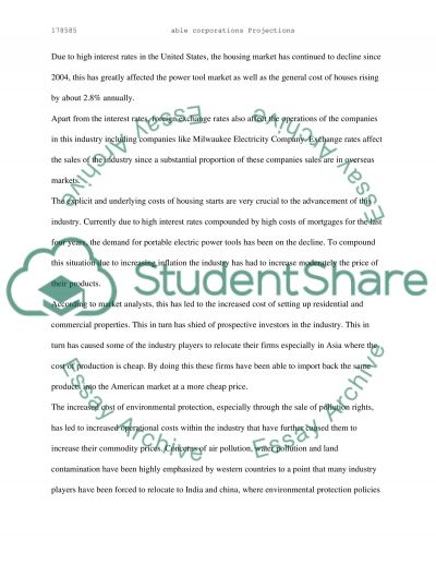 Able Tool Corporation essay example