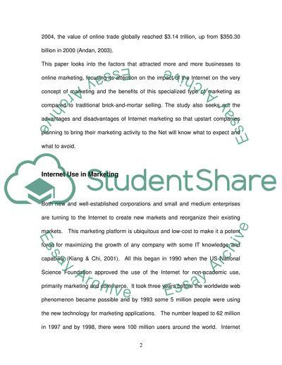 value of internet essay