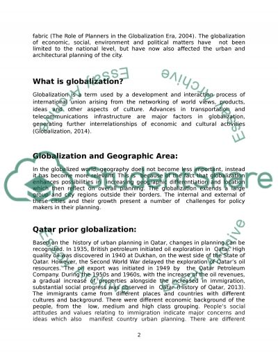 Impact of Globalization on the country Identity essay example
