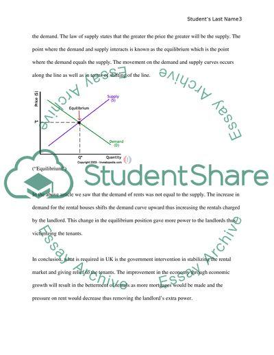 Microeconomics article analyses essay