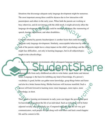 Education College Essay