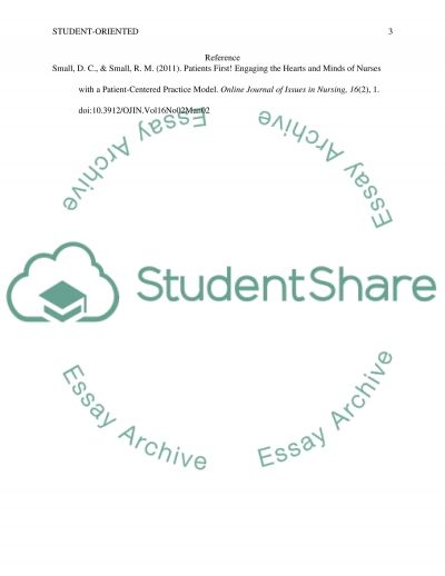 Student-Oriented