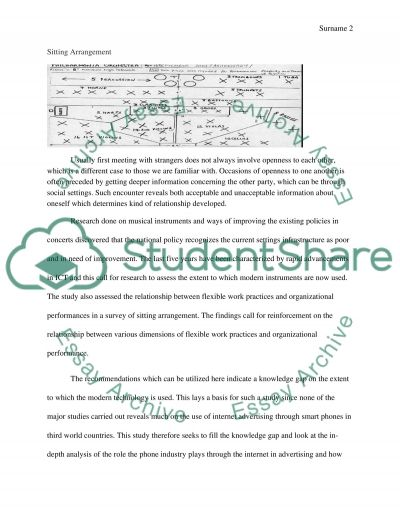Concert Attendance Report Assignment example