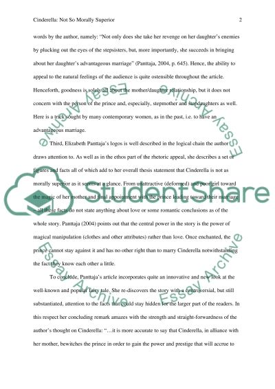 Good Proposal Essay Topics Argumentative Essays Cinderella Stories How To Use A Thesis Statement In An Essay also Essay On Business Management Argumentative Essays Cinderella Stories Essay Example   Words  Healthy Eating Essays