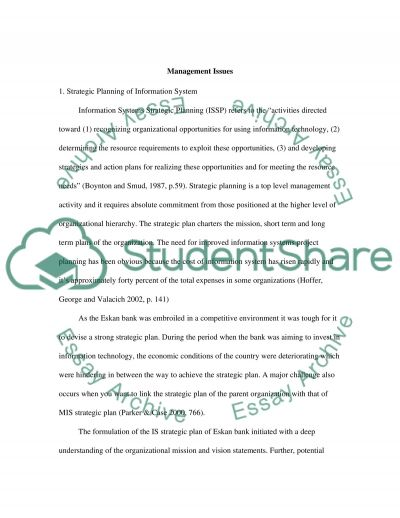 Character Sketch Example Essays Management Of Information Technology Leonardo Da Vinci Biography Essay also Living A Healthy Lifestyle Essay Management Of Information Technology Essay Example  Topics And Well  Mesopotamia Essay