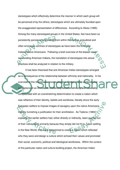 Stereotypes Essay