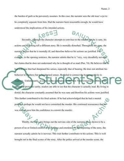 Short Story Literary Analysis Essay