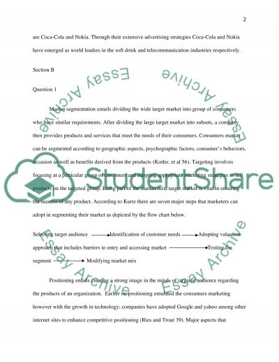 Problems - questions essay example