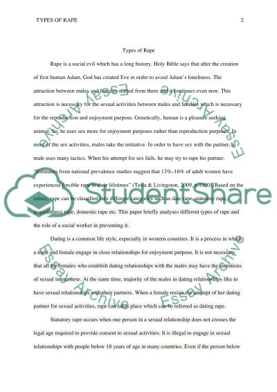 statutory rape thesis Download thesis statement on statutory rape in our database or order an original thesis paper that will be written by one of our staff writers and delivered according to the deadline.