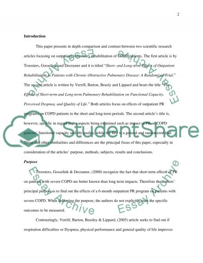 essay comparing articles Find articles with all of the words with the exact phrase with at least one of the words without the words where my words occur anywhere in the article.