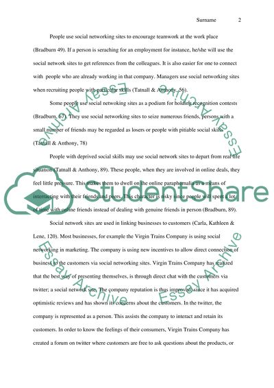 Synthesis Essay Prompt Social Networking English Essay Question Examples also Narrative Essay Examples High School Social Networking Essay Example  Topics And Well Written Essays  Analysis Essay Thesis