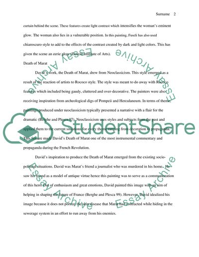Write A Good Thesis Statement For An Essay Art History Compare And Contrast Essay The Nightmare By Henry Fuseli And  Death Descriptive Essay Thesis also Examples Of A Thesis Statement For A Narrative Essay Art History Compare And Contrast Essay The Nightmare By Henry Essay Essay On Healthy Foods