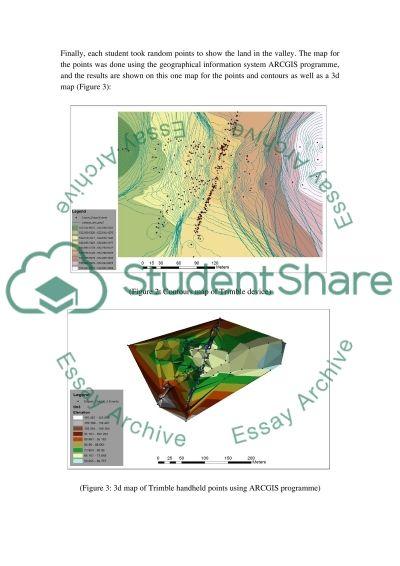 Fieldwork GPS report essay example