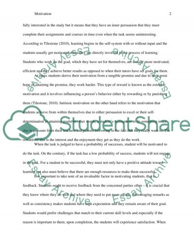 Motivation. What is Motivation Students Motivation