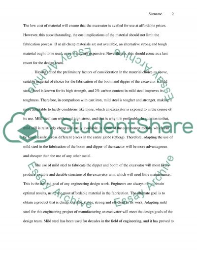 Project essay example