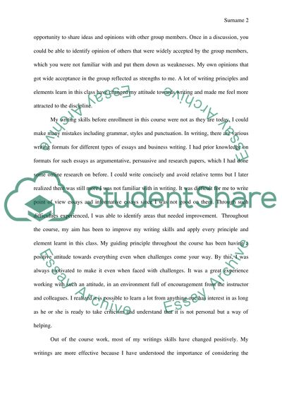 Final Letter to the Instructor