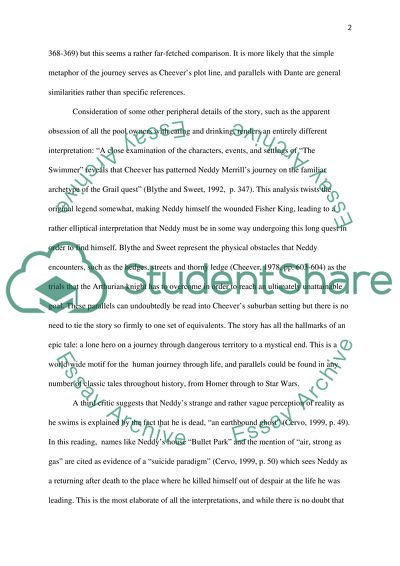 the swimmer essay