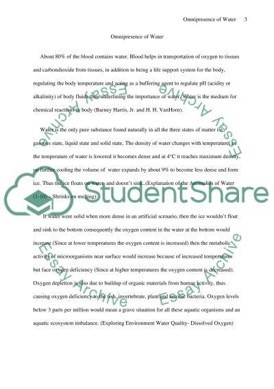 Biology College Essay