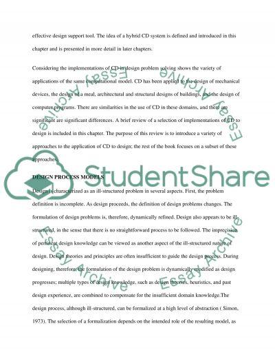 Conceptual Design essay example