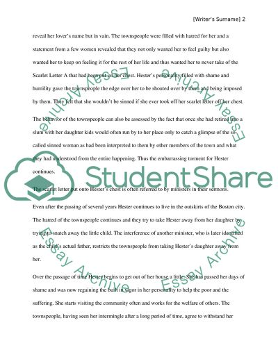 The Yellow Wallpaper Character Analysis Essay Scarlet Letter By Nathaniel Hawthorne Topics For Synthesis Essay also Essay On Photosynthesis Scarlet Letter By Nathaniel Hawthorne Essay Example  Topics And  English Language Essays
