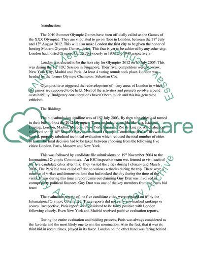 Example college essays