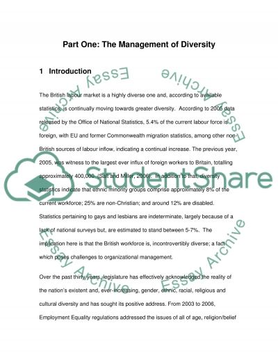 equality and diversity ptlls essay 1 3 explain ways to promote equality and value diversity an essay listing and  explaining the ways in which equality and diversity should be promoteview  more.