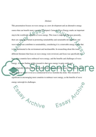 Geophysics essay example