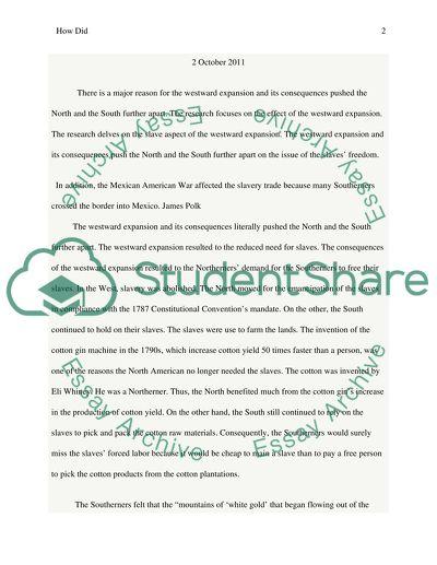History Essay #6
