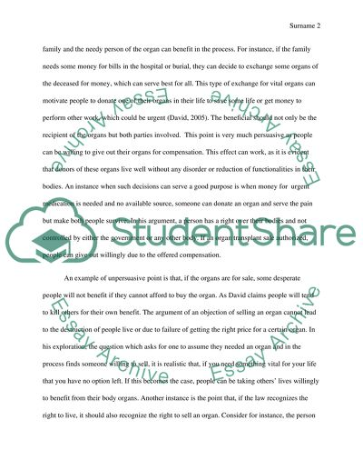 Analytical essay (analysis of two reading assignment from class as to their persuasiveness: their effective and ineffective argu