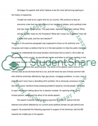 critique of a political speech essay example topics and well critique of a political speech essay - Example Of Speech Essay