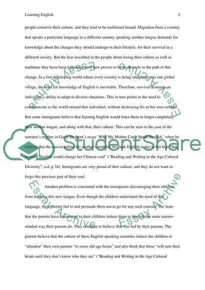 Proposal Essay  High School Essay Writing also College Essay Paper Why Some People Cant Learn English Essay Example  Topics  Essay Writing Examples English