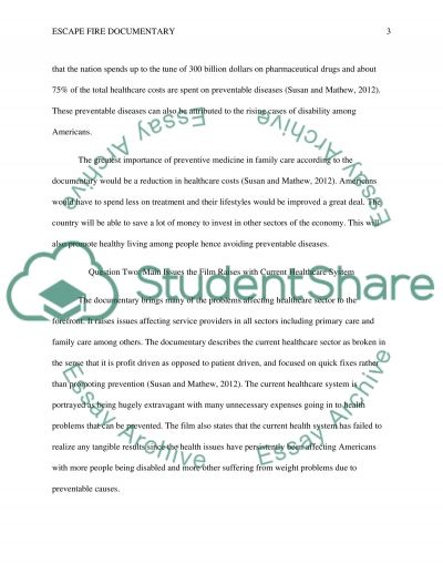 Answer questions Essay example