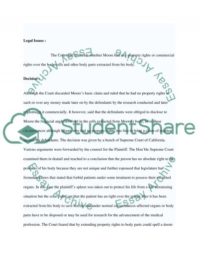 Real and Intellectual Property Law Briefs essay example