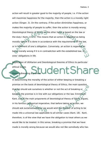 Philopsphy paper essay example