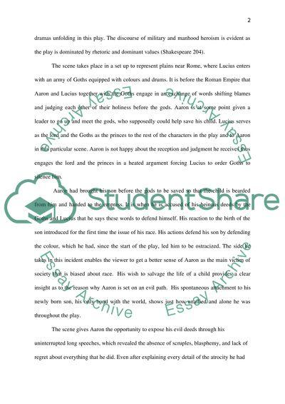 Shakespeare essay topics