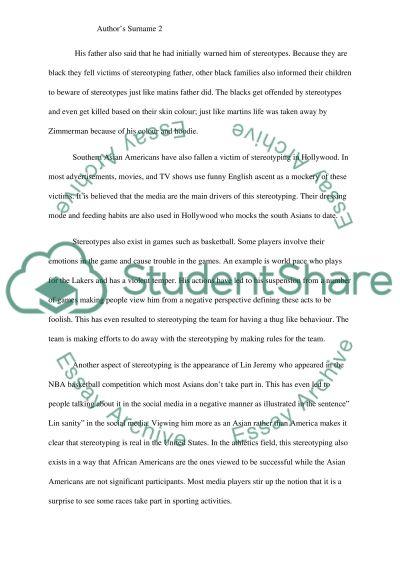 My media diary essay example