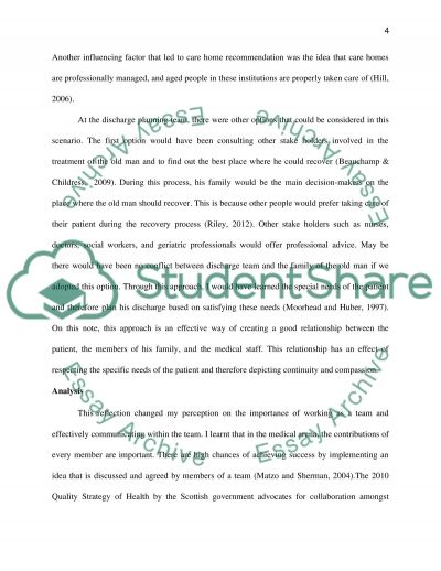 a reflective account essay Below we offer an example of a thoughtful reflective essay that effectively and substantively captures the author's growth over time at csuci.