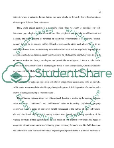 Short Essays For High School Students Identify And Describe The Theories Ofethical Egoism Psychological  Egoism Essay For Students Of High School also Hamlet Essay Thesis Identify And Describe The Theories Ofethical Egoism   Essay On Importance Of Good Health