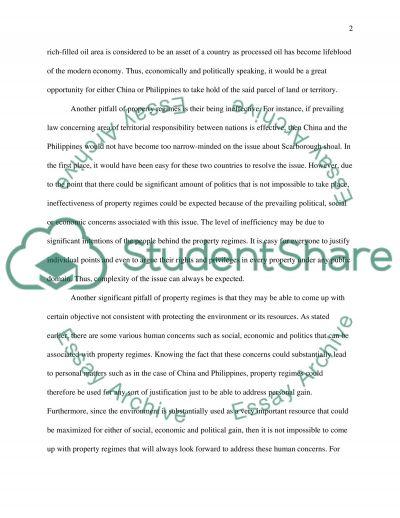 Liberty, Property, Environmentalism essay example