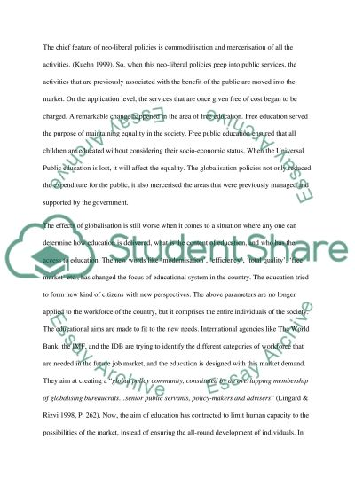 UK and American Educational Systems essay example
