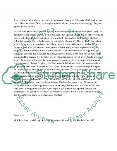 act utilitarianism 3 essay Is rule-utilitarianism preferable to act-utilitarianism essay  3) it is a principle that  concentrates on the outcome of an act and compares the good outcome with.