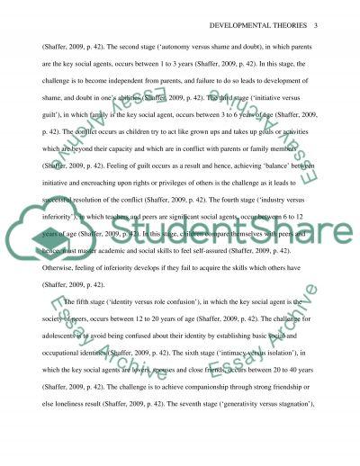 Pediatric Growth and Development essay example
