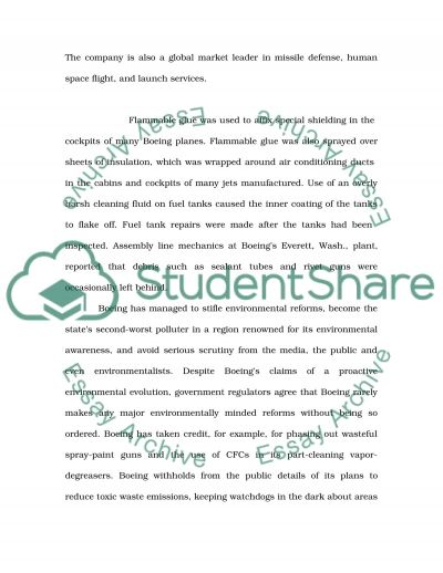 Coporate Governance essay example
