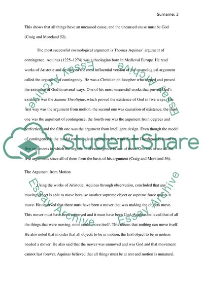 How To Use A Thesis Statement In An Essay Cosmological Argument The Forms Of Cosmological Arguments English Essay Short Story also High School Essay Writing Cosmological Argument The Forms Of Cosmological Arguments Essay Essay Topics For High School English