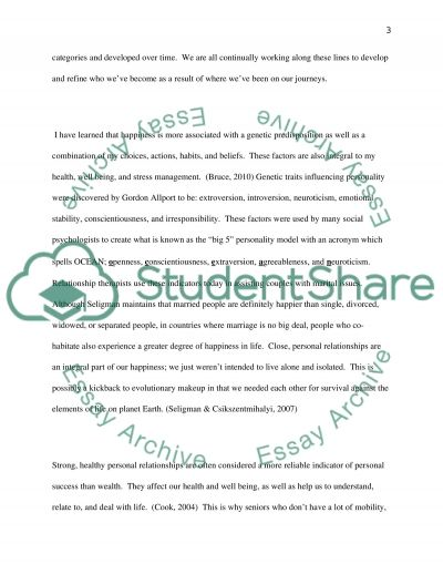 Environmental reflective essay