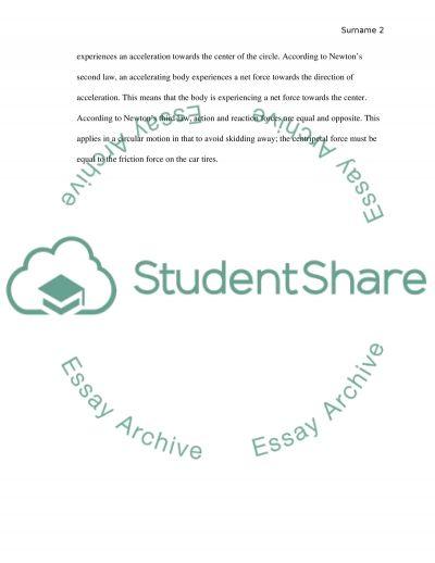 Lab Discussion essay example
